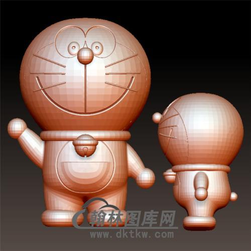 哆啦A梦立体圆雕图(YKT-6)