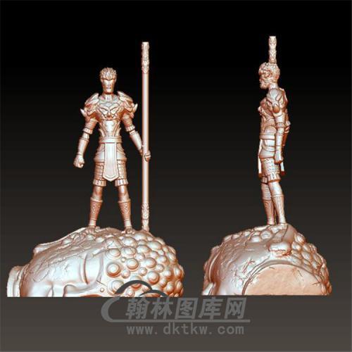 齐天大圣孙悟空立体圆雕图(YKT-8)