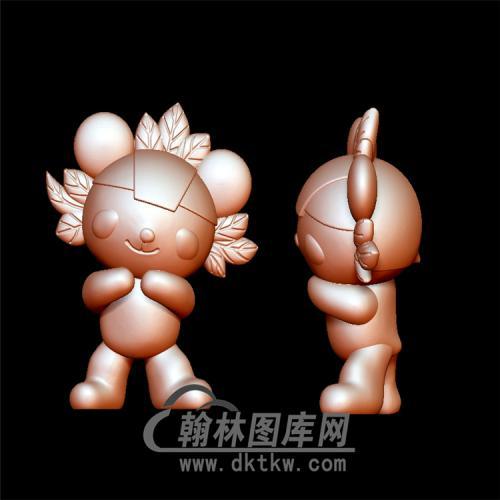 福娃立体圆雕图(YKT-15)