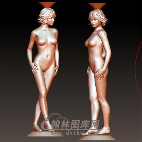美女裸女立体圆雕图(YSN-13)