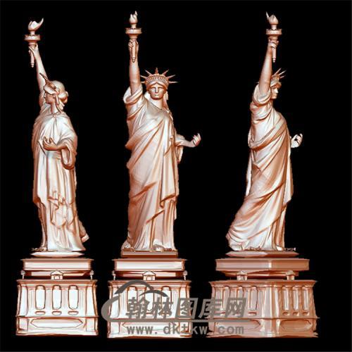 自由女神像立体圆雕图(YXF-192)