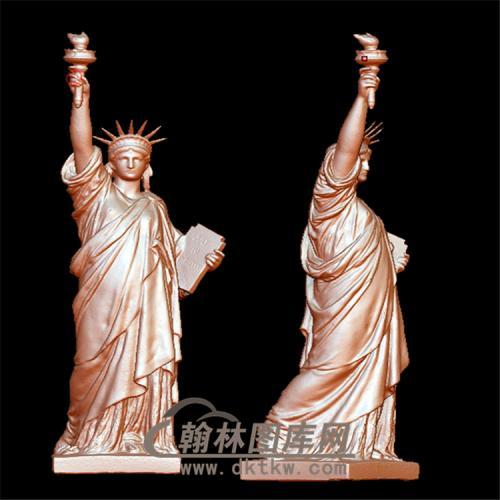 自由女神立体圆雕图(YXF-193)