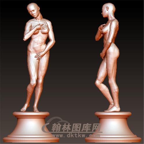 西方雕塑人物立体圆雕图(YXF-196)