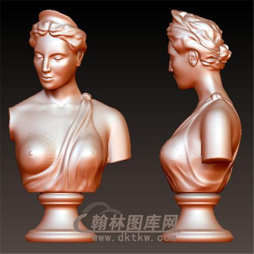 罗马人雕塑立体圆雕图(YXF-207)