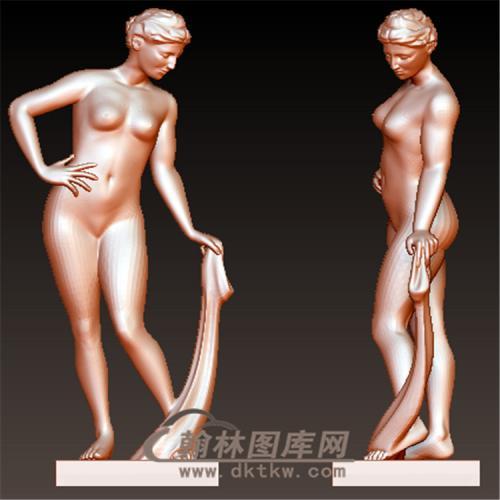 西方雕塑人物立体圆雕图(YXF-217)