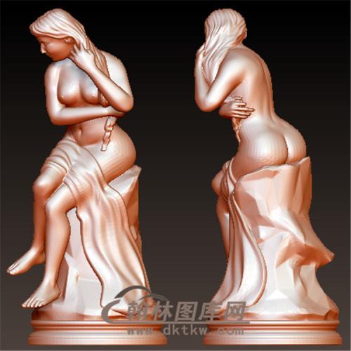 西方雕塑立体圆雕图(YXF-218)