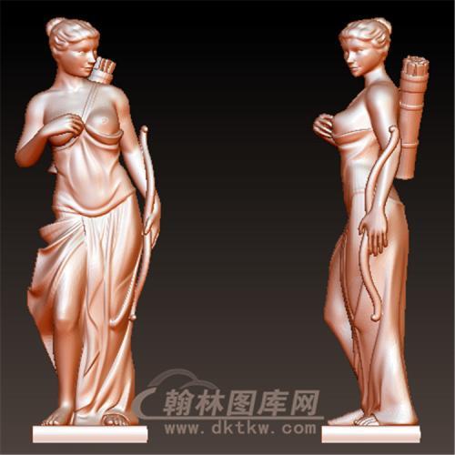 西方雕塑立体圆雕图(YXF-220)