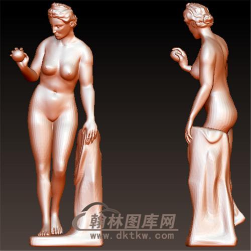 西方雕塑立体圆雕图(YXF-221)