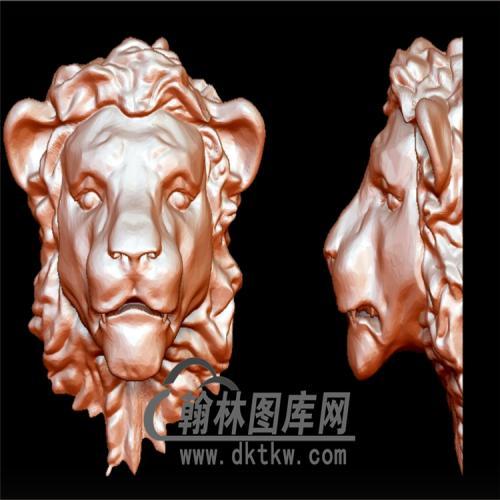 狮子头立体圆雕图(YSZ-025)