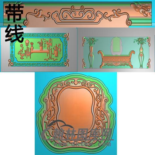 平安富贵精雕图(GHH-047)