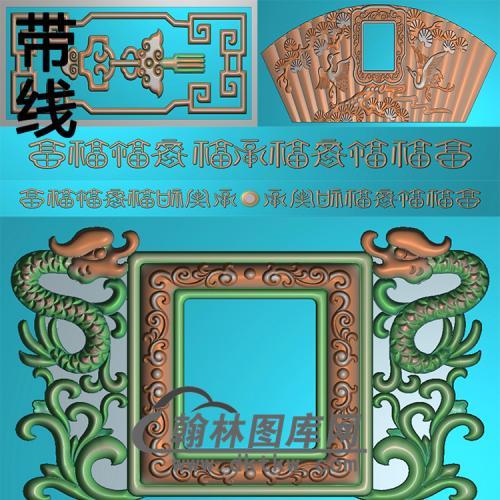 祈福园精雕图(GHH-050)
