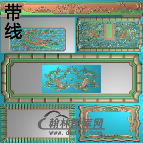 盛凤精雕图(GHH-052)