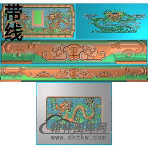 盛龙精雕图(GHH-053)