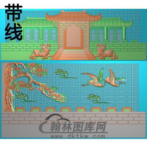 盛世豪门精雕图(GHH-054)
