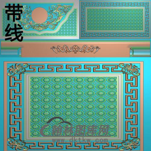 盛世扬花精雕图(GHH-057)