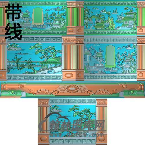 仙界奇景精雕图(GHH-074)