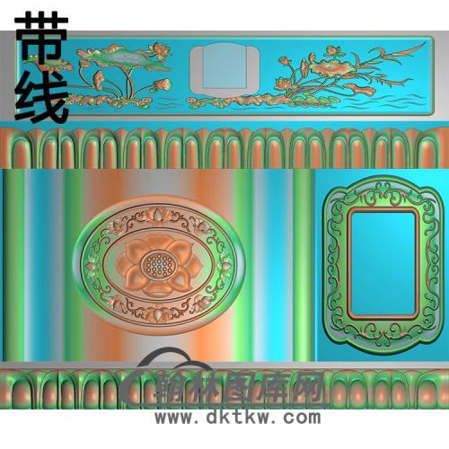 新莲花精雕图(GHH-079)