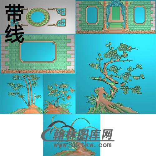 新孝福宫精雕图(GHH-081)