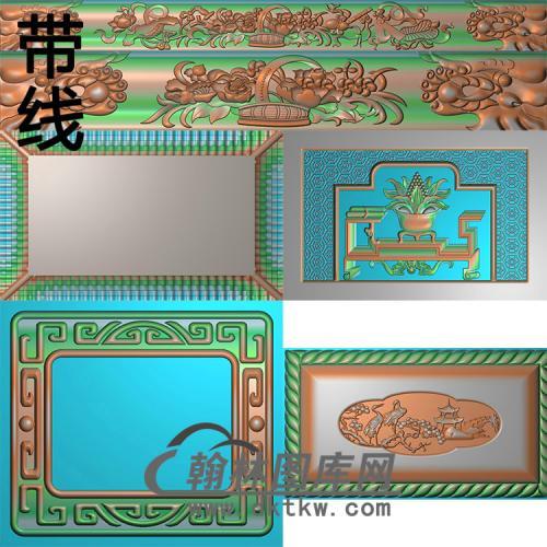 御园堂精雕图(GHH-087)