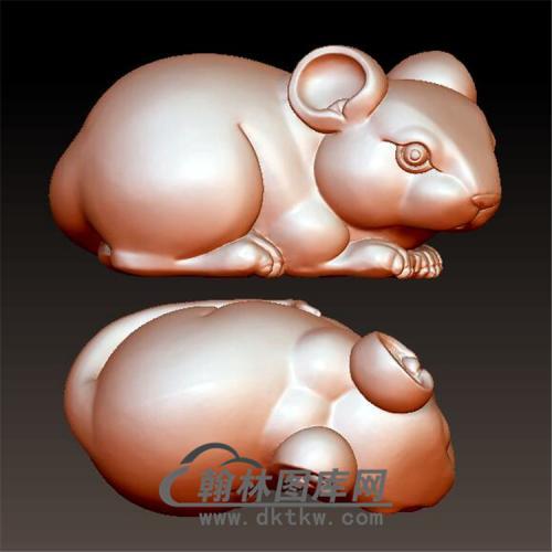 小仓鼠立体圆雕图(YS-022)