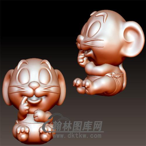 鼠宝宝立体圆雕图(YS-028)