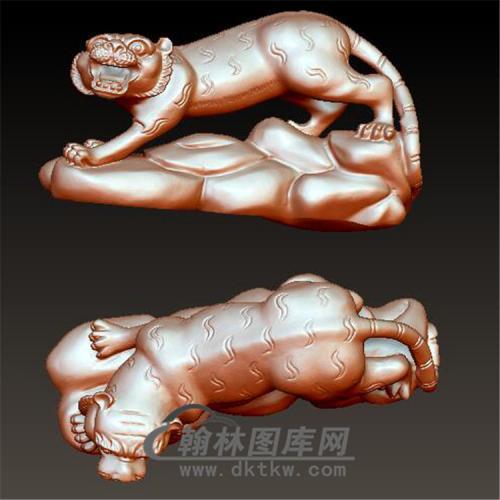 十二生肖虎立体圆雕图(YHH-009)