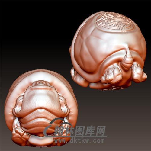 龙龟立体圆雕图(YL-016)