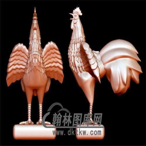 鸡立体圆雕图(YJ-004)