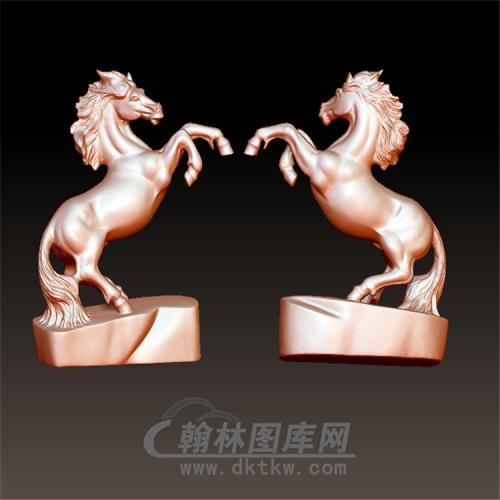 马立体圆雕图(YM-022)