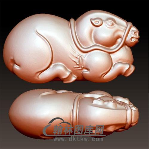 唐马立体圆雕图(YM-032)