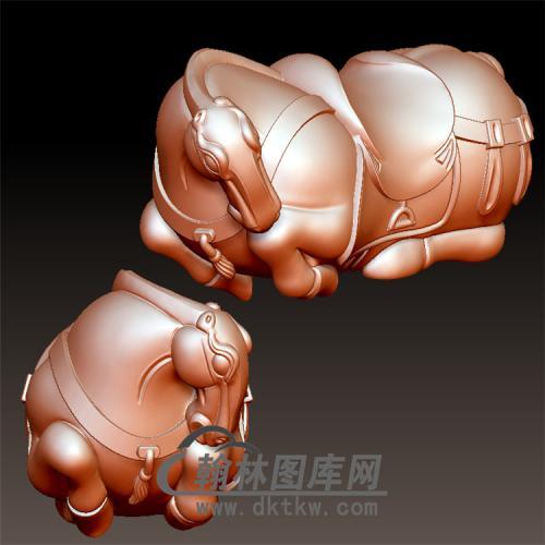 新唐马立体圆雕图(YM-036)
