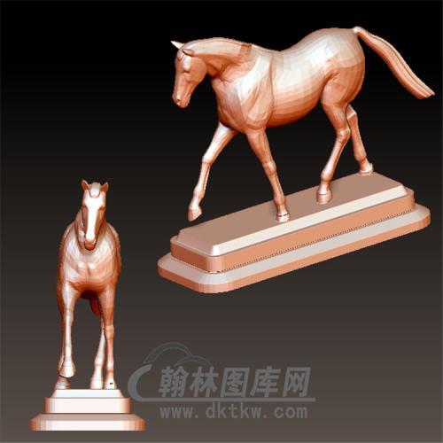 雕塑马立体圆雕图(YM-039)