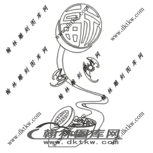 镂空花格图(ZLK-1286)