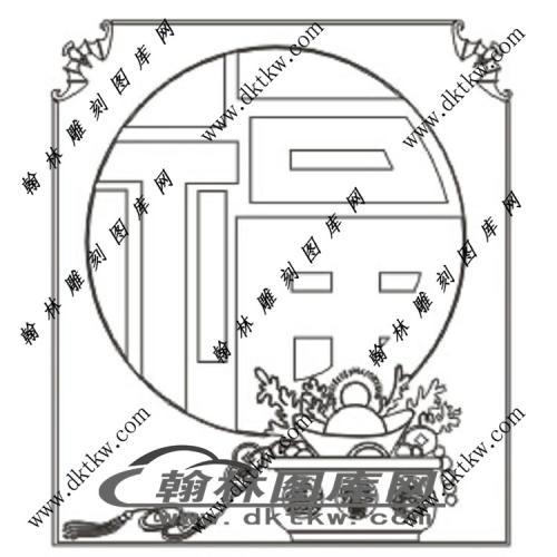 镂空花格图(ZLK-1288)
