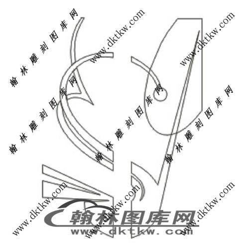 镂空花格图(ZLK-1299)