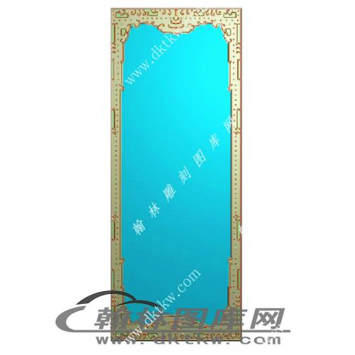 大门板边框精雕图(MM-009)