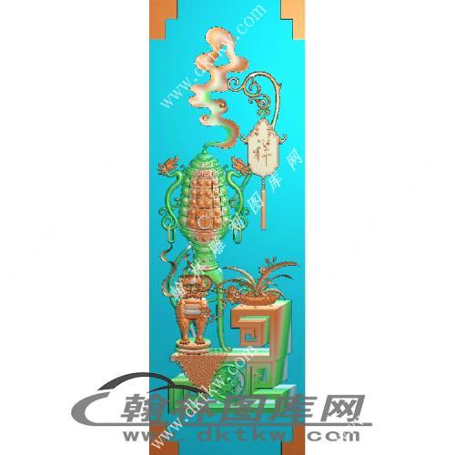 大门板精雕图(MM-008)
