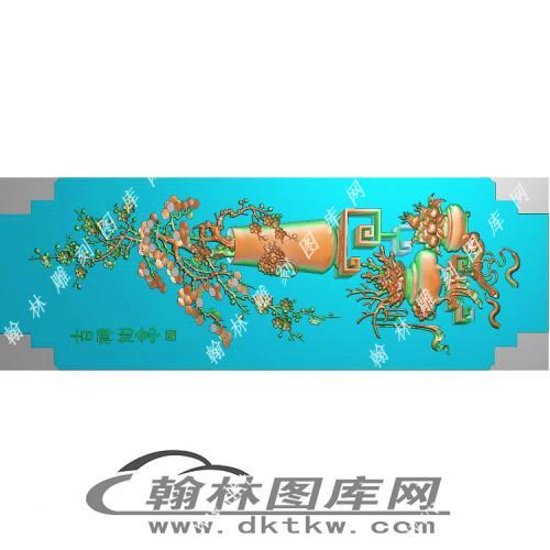 大门板精雕图(MM-010)