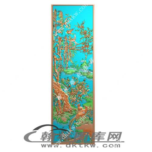 锦绣前程精雕图(MM-018)