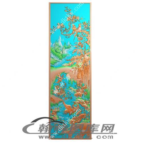 一路连科精雕图(MM-022)