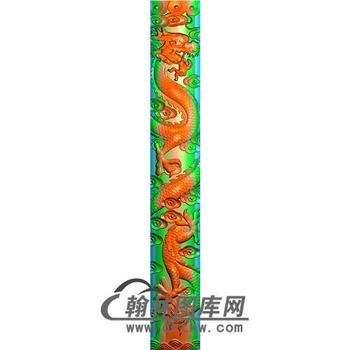 龙柱精雕图(MBLZ-2306)