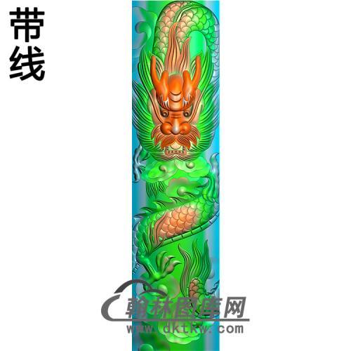 龙柱精雕图(MBLZ-2334)
