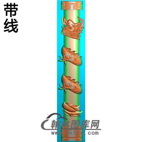 龙柱精雕图(MBLZ-2337)