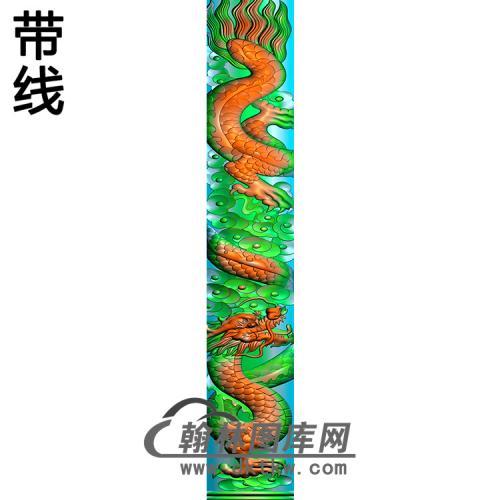 龙柱精雕图(MBLZ-2386)