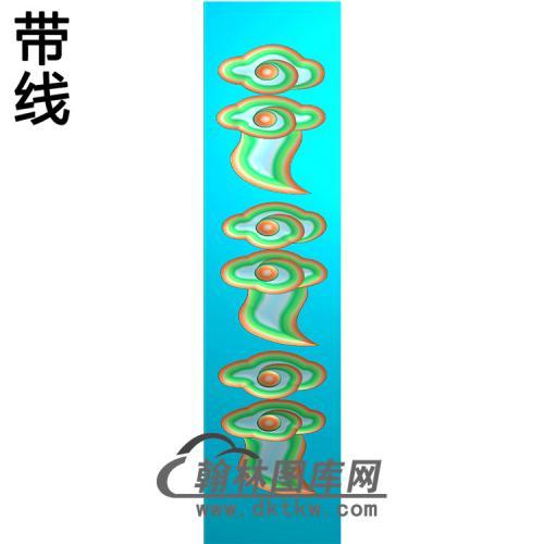 云立柱精雕图(MBLZ-2388)