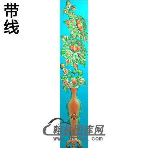 花瓶立柱精雕图(MBLZ-2399)