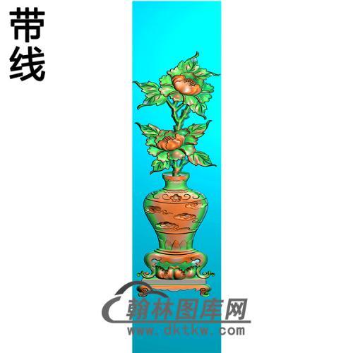 花瓶立柱精雕图 (MBLZ-2404)