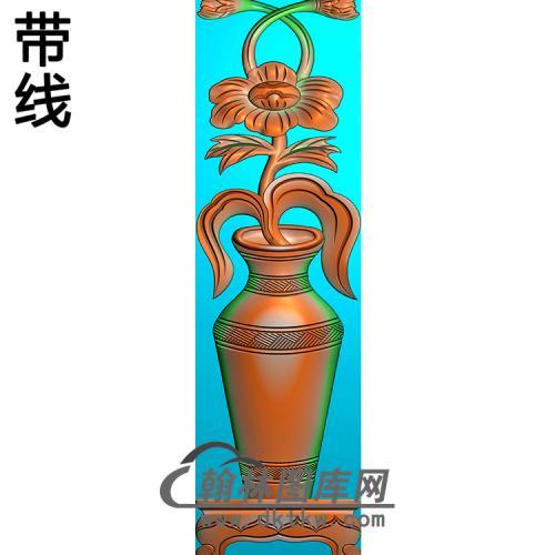 花瓶立柱精雕图(MBLZ-2411)