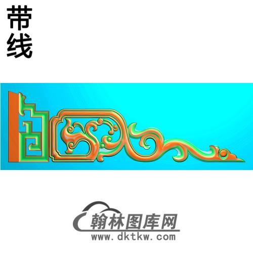 洋花耳朵精雕图(MBED-0568)