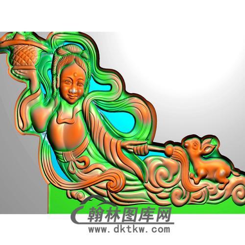 仙女耳朵精雕图(MBED-0618)